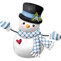 ساخت عروسک آدم برفی با جوراب