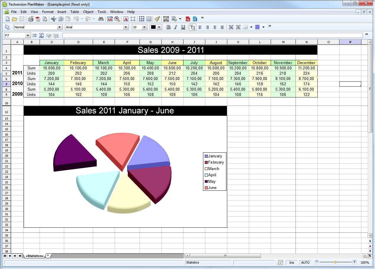 دانلود Ashampoo Office PlanMaker
