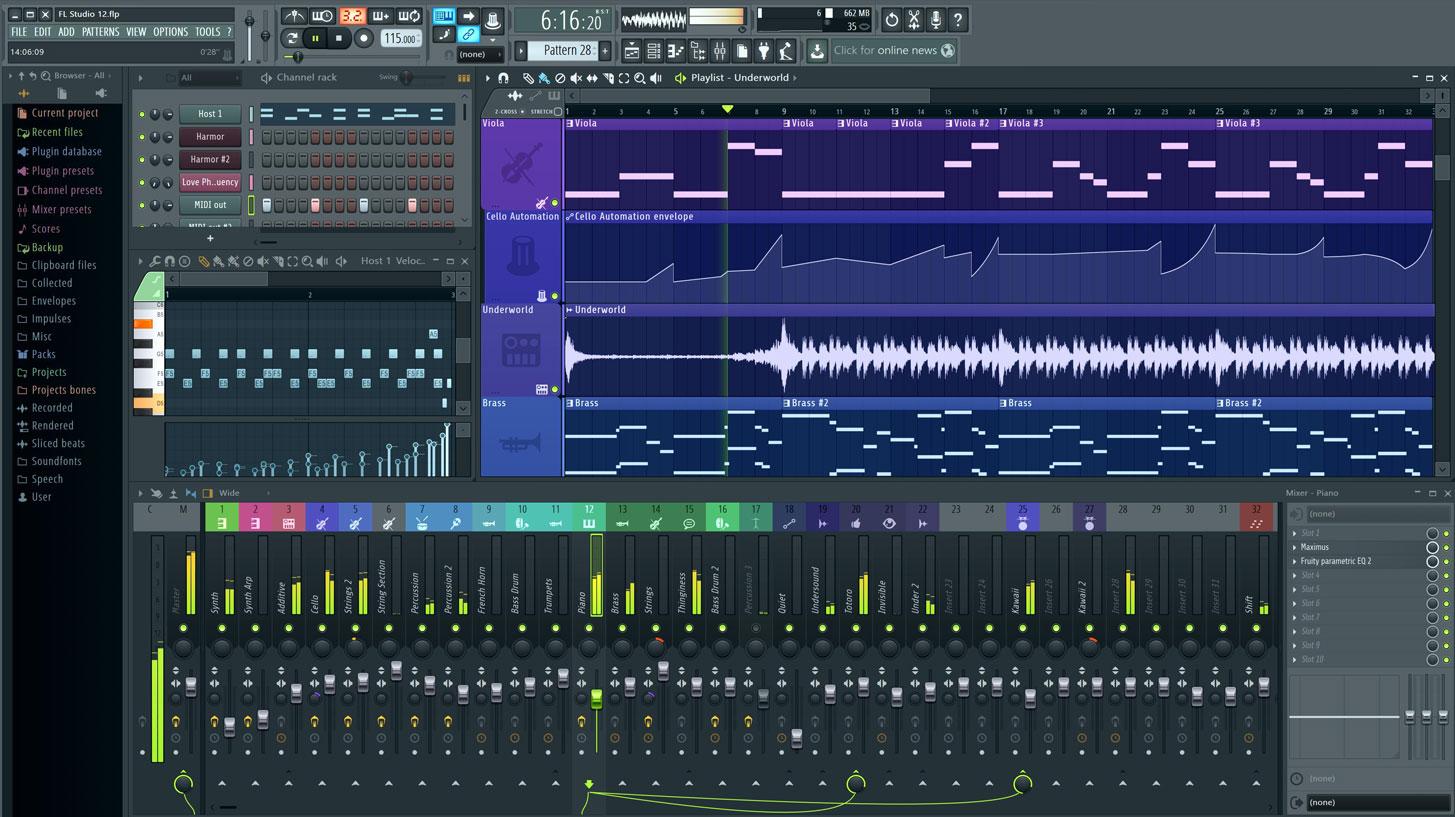 دانلود نرم افزار FL Studio