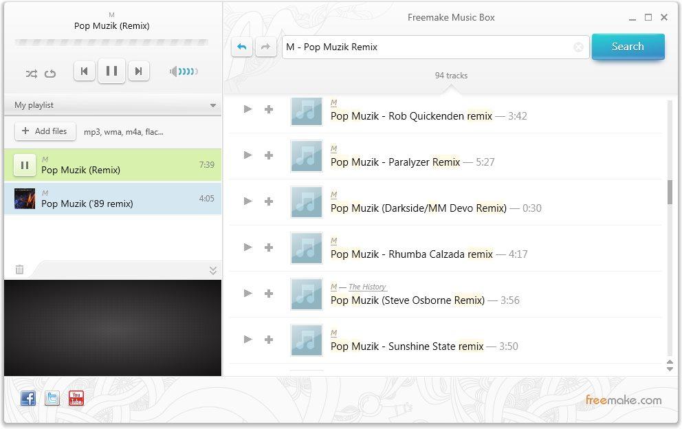 دانلود Freemake Music Box