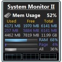 گجت نمایش لحظهای اطلاعات سیستم