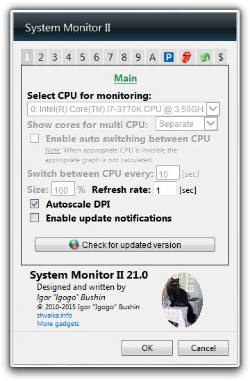 دانلود System Monitor II