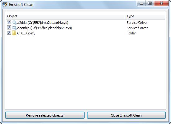 دانلود نرم افزار Emsisoft Clean