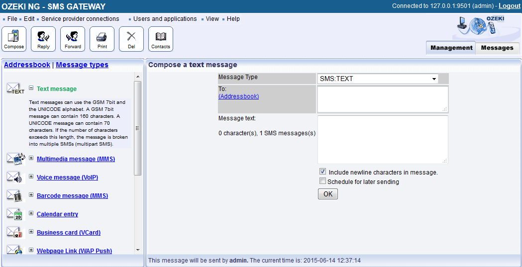 دانلود Ozeki NG SMS Gateway