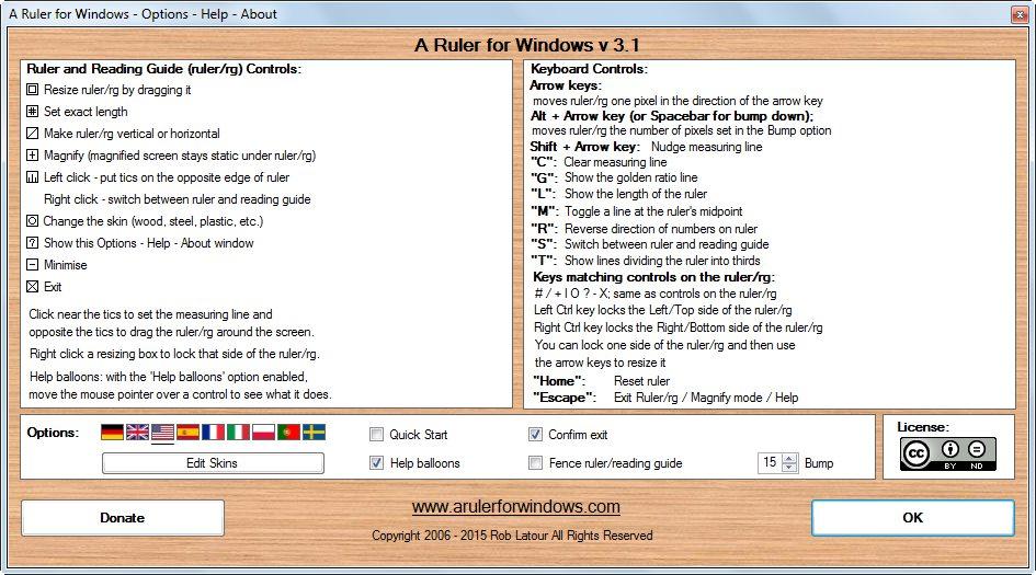 دانلود نرم افزار A Ruler for Windows