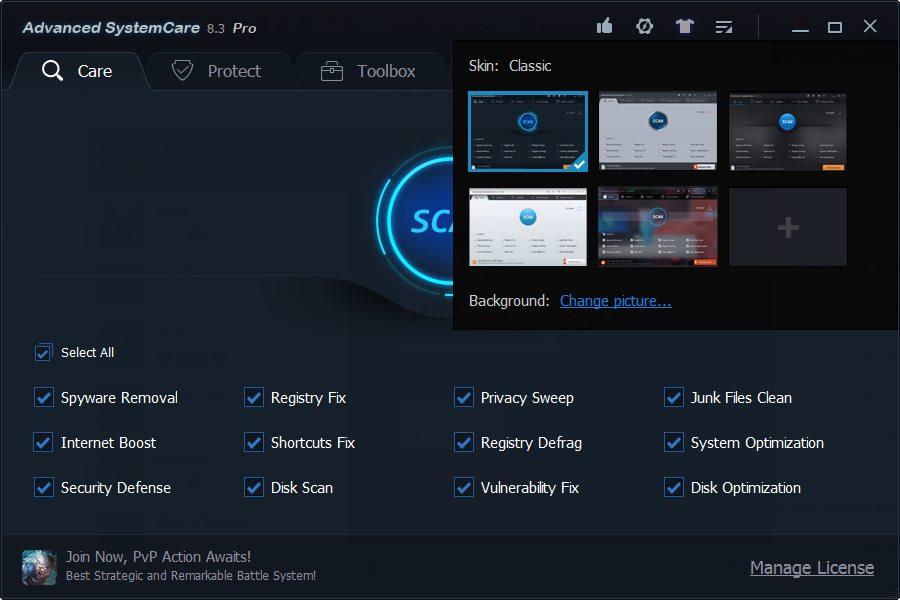 دانلود برنامه Advanced SystemCare Pro