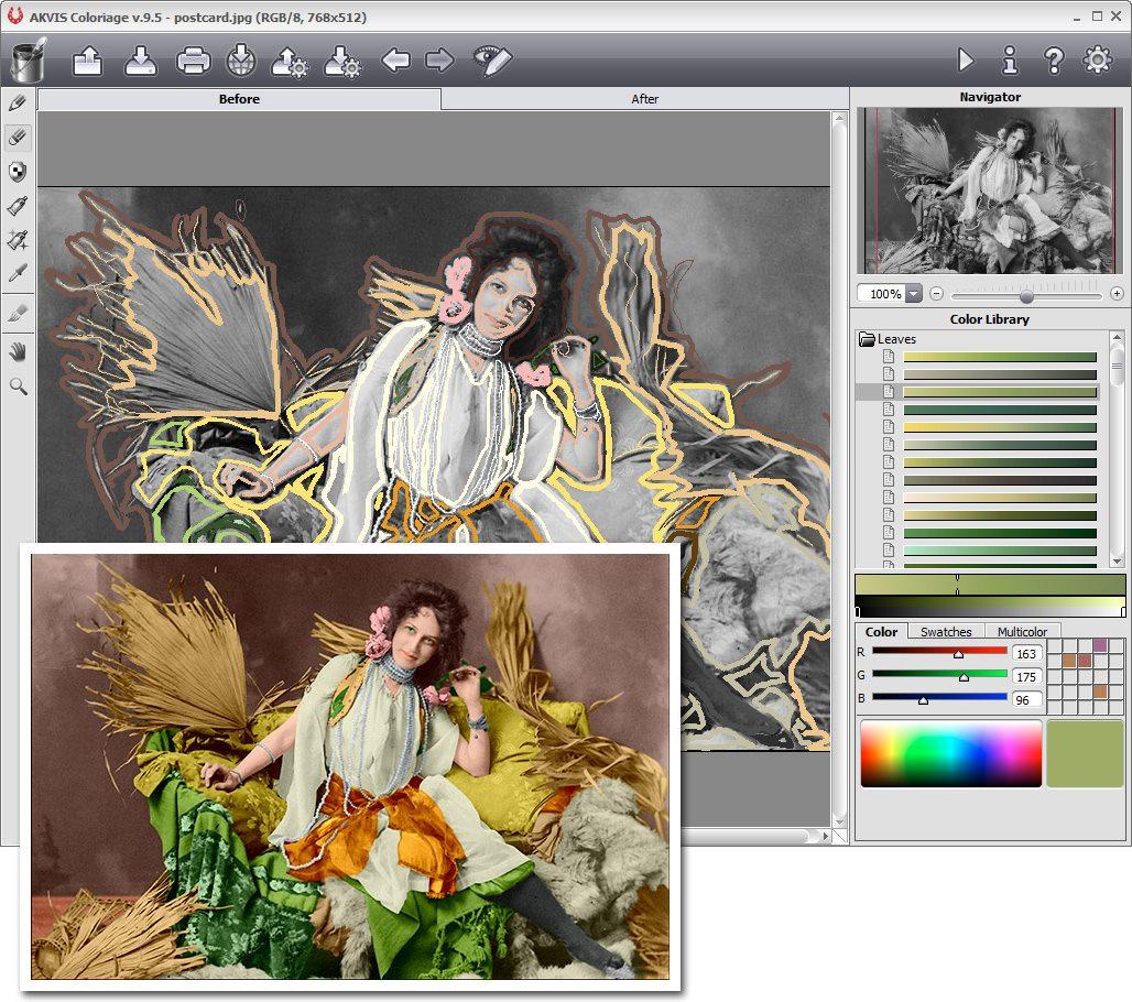 دانلود نرم افزار AKVIS Coloriage