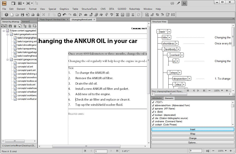 دانلود نرم افزار Adobe FrameMaker