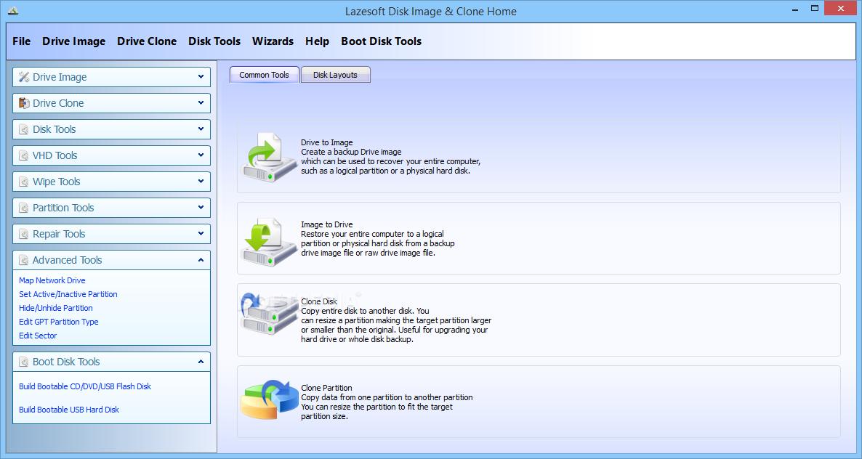 دانلود نرم افزار Lazesoft Disk Image & Clone