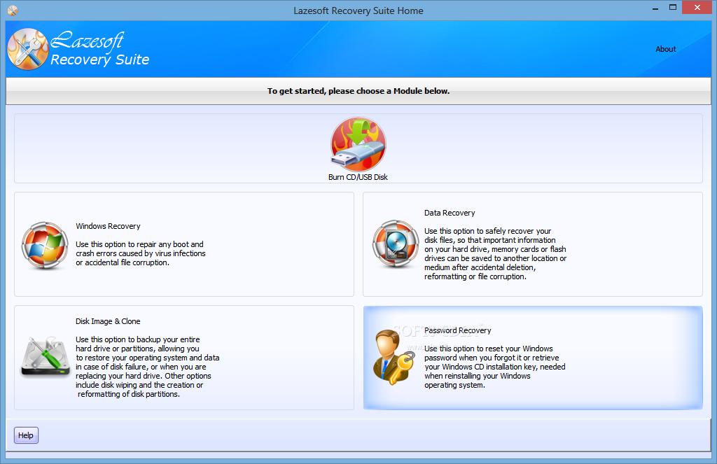 دانلود نرم افزار Lazesoft Recovery Suite Unlimited Edition