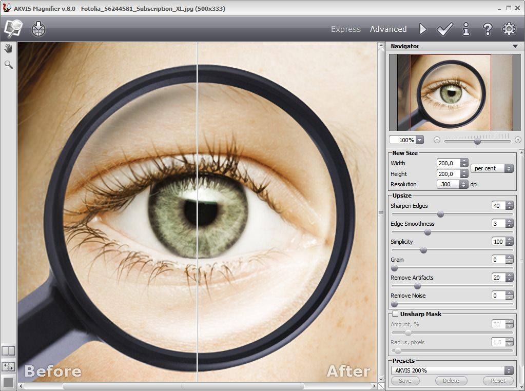 دانلود نرم افزار AKVIS Magnifier