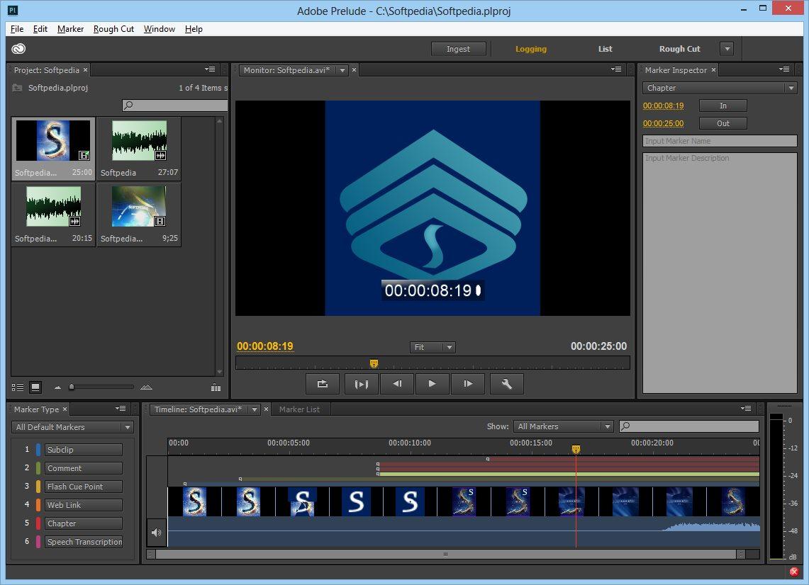 دانلود نرم افزار Adobe Prelude