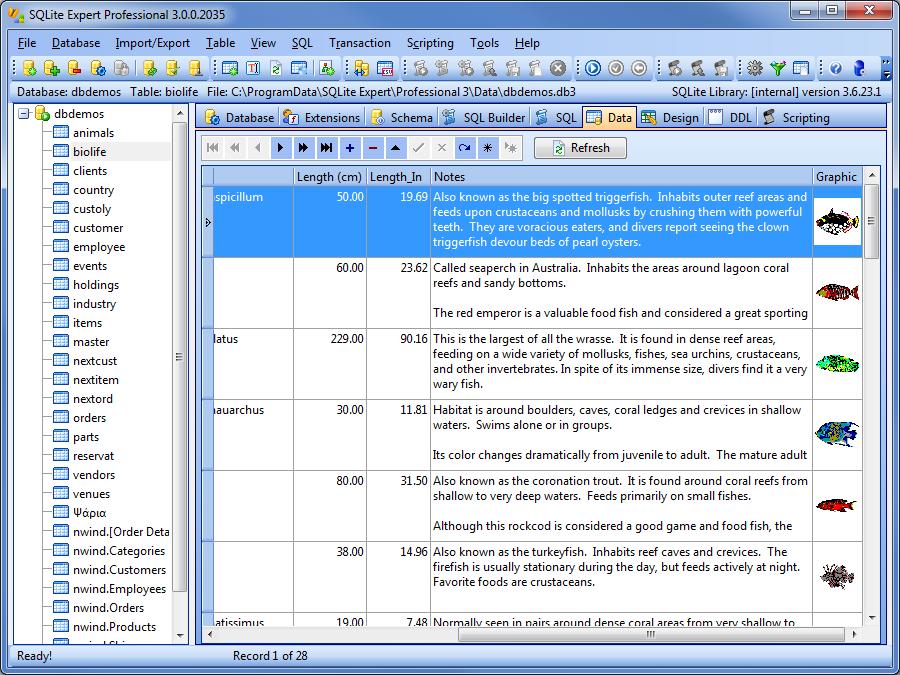 دانلود نرم افزار SQLite Expert Professional