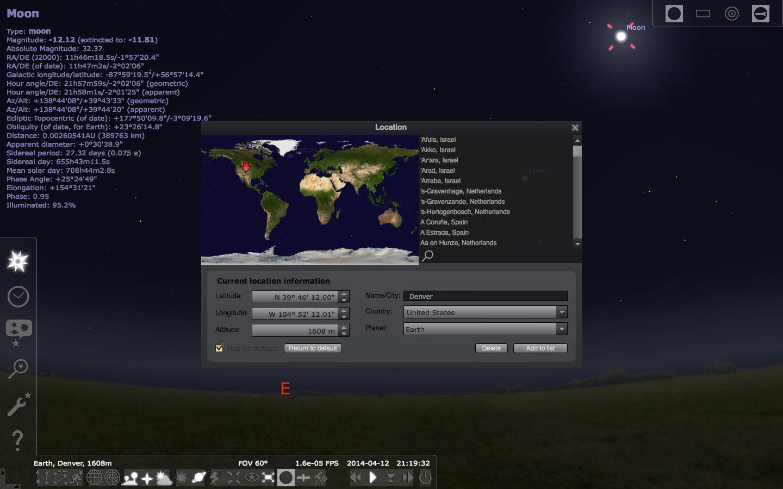 دانلود نرم افزار Stellarium