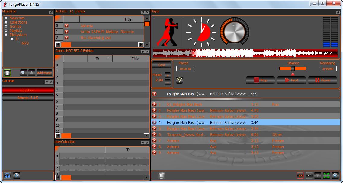 دانلود نرم افزار TangoPlayer
