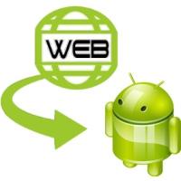 ساخت برنامه اندروید برای وب سایت