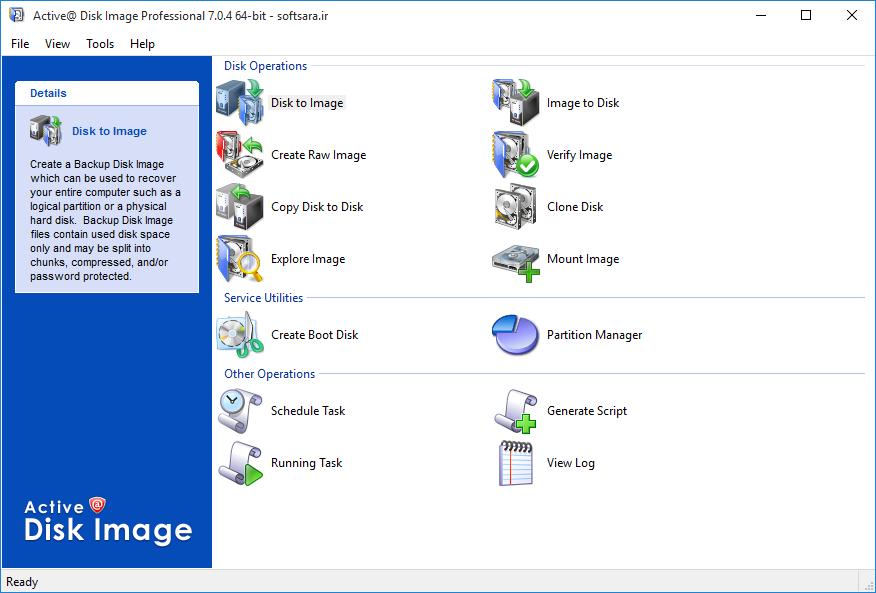 دانلود نرم افزار Active@ Disk Image