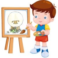 آموزش نقاشی به کودکان ۵ تا ۷ سال