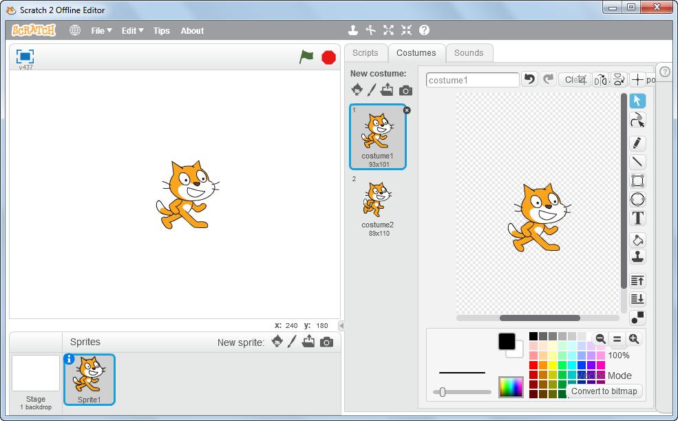 دانلود نرم افزار Scratch