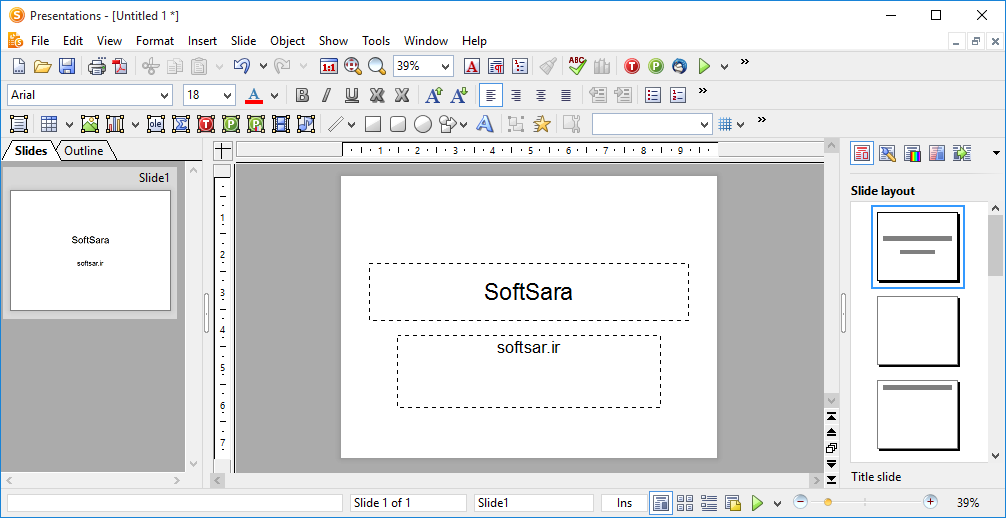 دانلود SoftMaker Office - نرم افزار Presentations