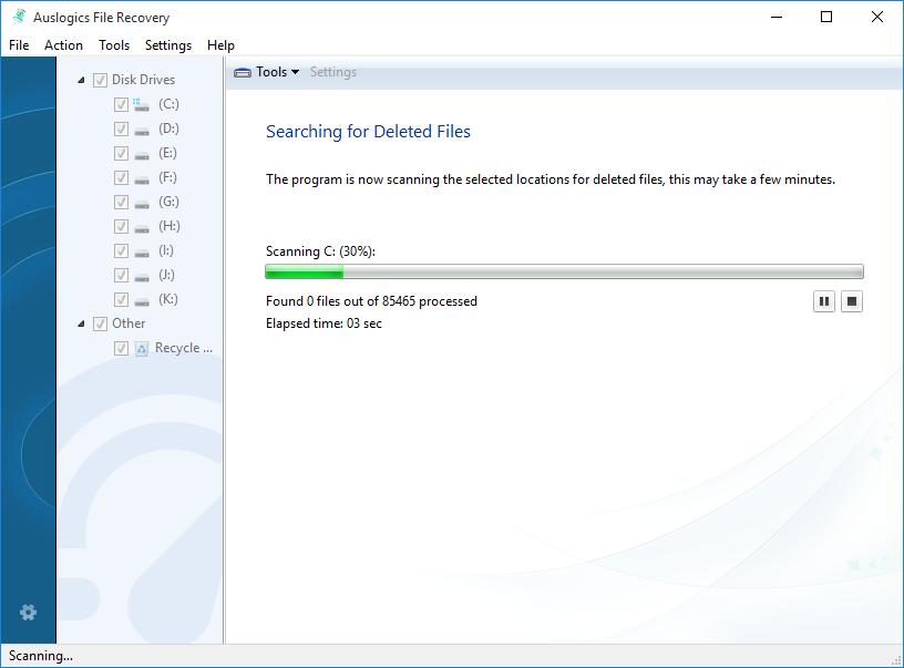 دانلود نرم افزار Auslogics File Recovery