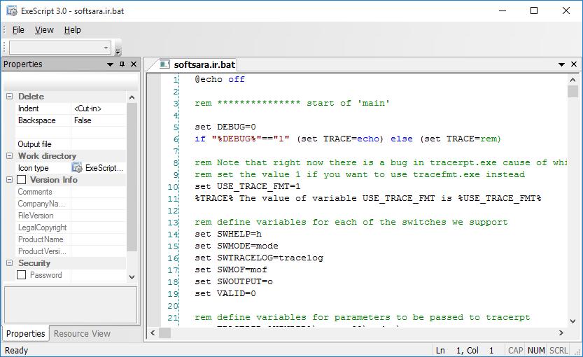 دانلود نرم افزار ExeScript