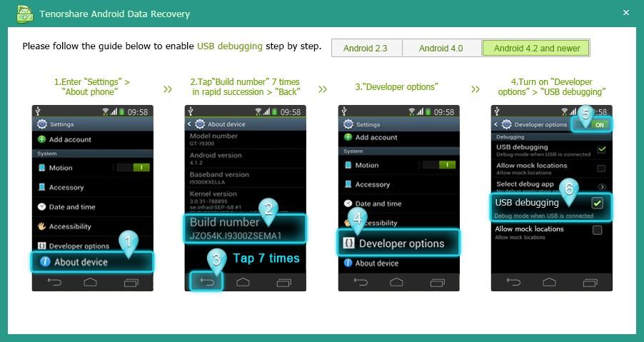 دانلود نرم افزار Tenorshare UltData for Android