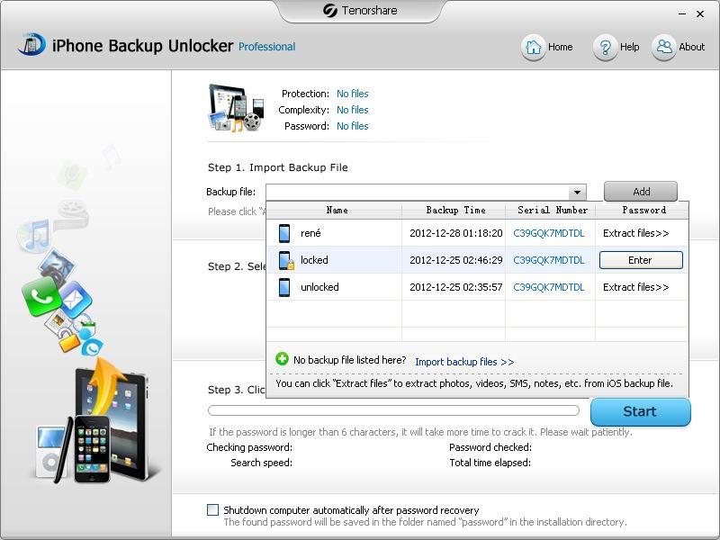 دانلود نرم افزار Tenorshare iPhone Backup Unlocker