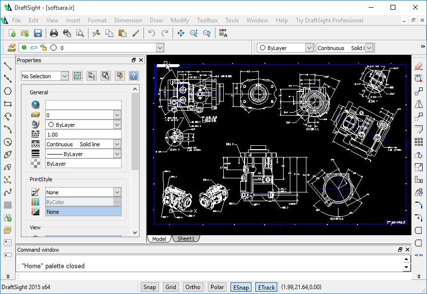 دانلود نرم افزار DraftSight