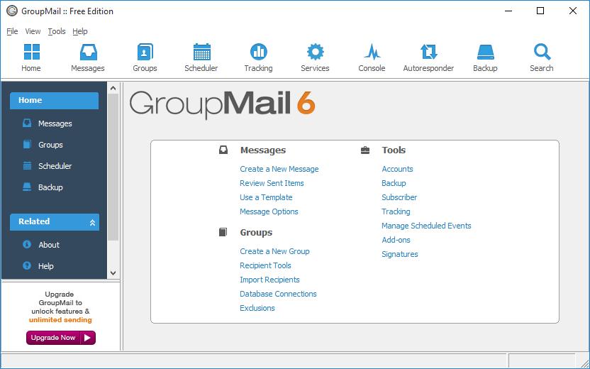 دانلود نرم افزار GroupMail