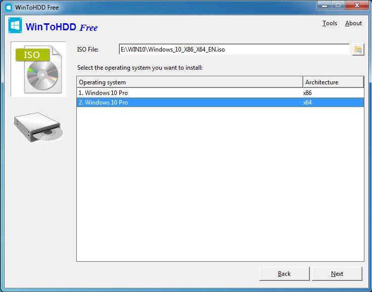 دانلود نرم افزار WinToHDD