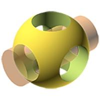 طراحی دو بعدی و سه بعدی برای عملیات ماشینکاری ساده