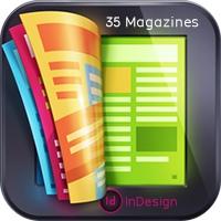 35 طرح لایه باز ایندیزاین برای صفحهبندی مجله، بروشور و آلبوم عکس