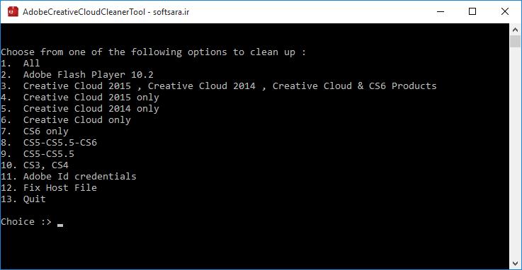 دانلود نرم افزار Adobe Creative Cloud Cleaner Tool