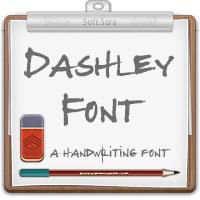 فونت دست نویس انگلیسی دشلی