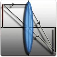 محاسبه فاصله کانونی در آینههای تخت، مقعر و محدب