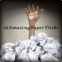 انجام 10 کار جالب با کاغذ