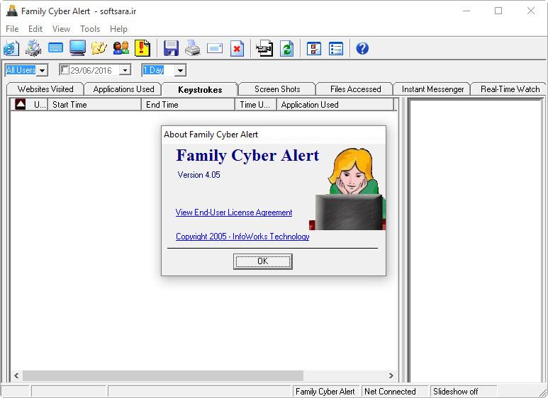 دانلود نرم افزار Family Cyber Alert