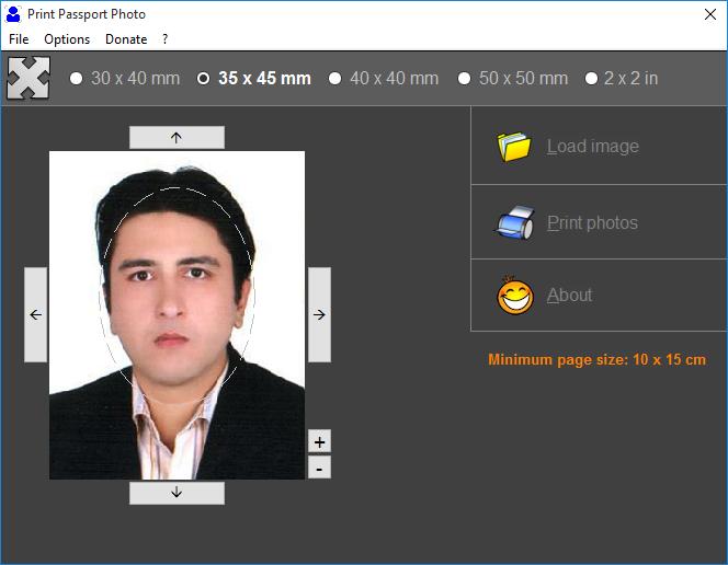 دانلود نرم افزار Print Passport Photo
