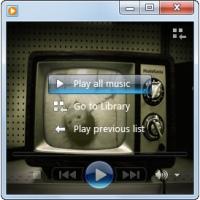 تغییر تصویر زمینه ویندوز مدیا پلیر در ویندوز 7