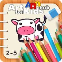 آموزش نقاشی برای کودکان ۲ تا ۵ سال