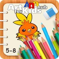 آموزش نقاشی برای کودکان 5 تا 8 سال