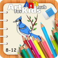 آموزش نقاشی برای کودکان ۸ تا ۱۲ سال