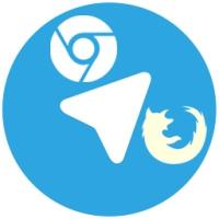افزونه تلگرام برای مرورگر فایرفاکس و گوگل کروم