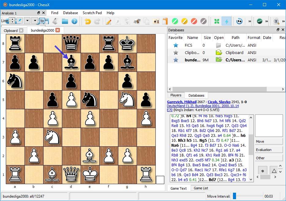 دانلود نرم افزار ChessX