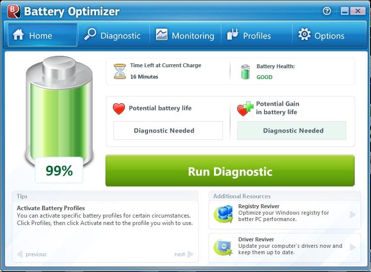 دانلود نرم افزار Battery Optimizer