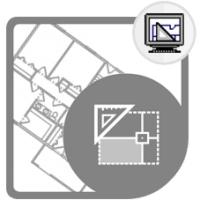 ترسیم نقشه دو بعدی ساختمان