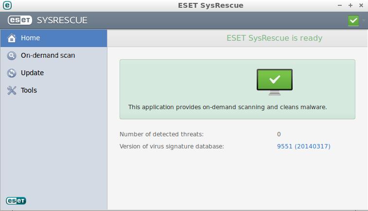دانلود ESET SysRescue Live Creator