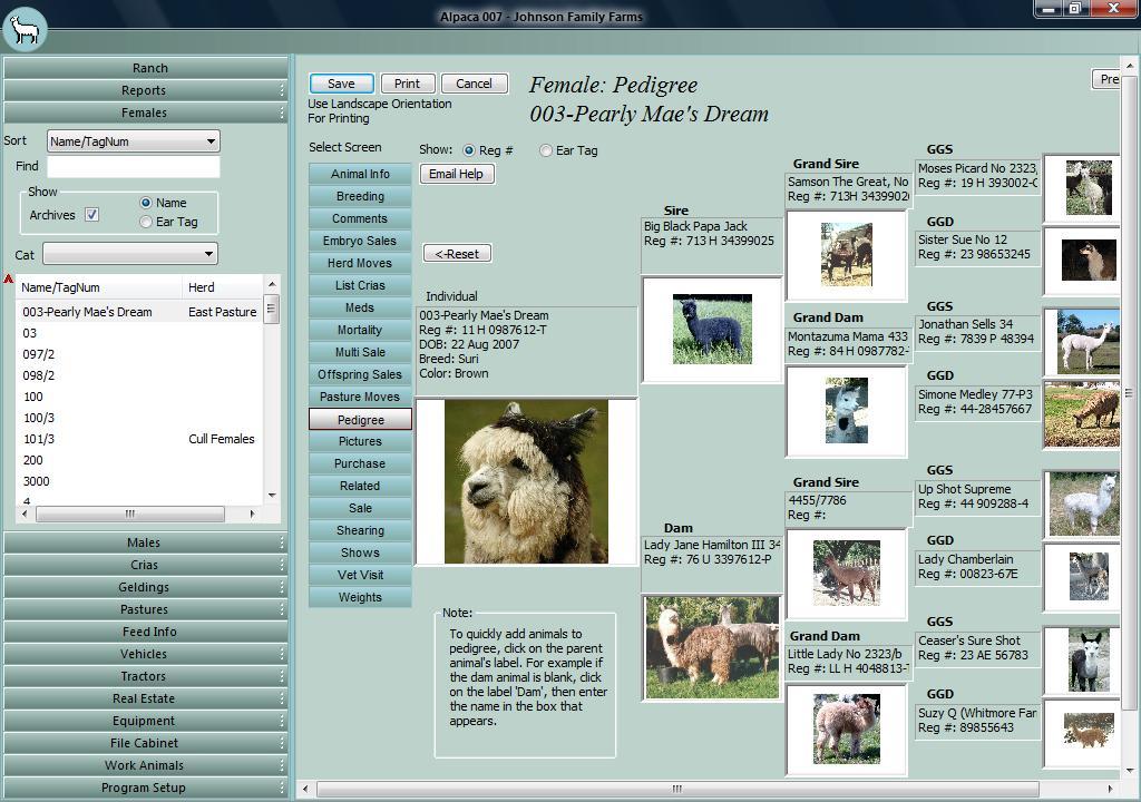 نرم افزار Alpaca Manager