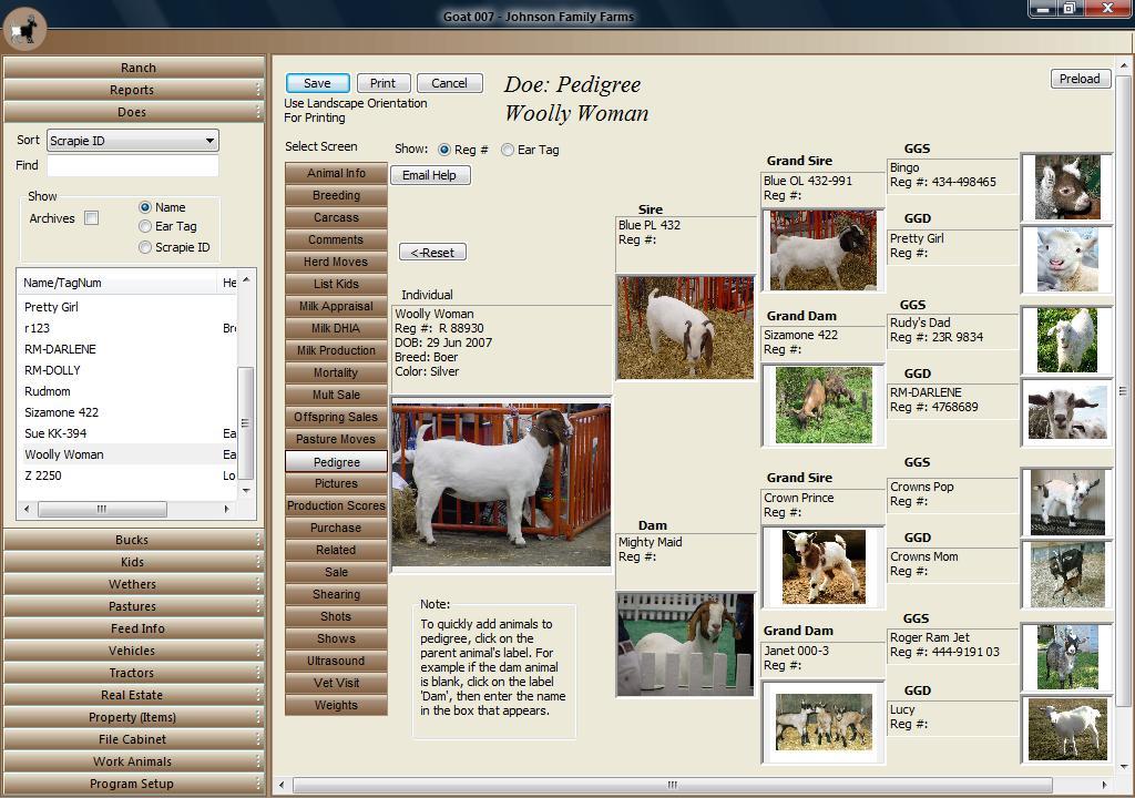 نرم افزار Goat Manager